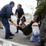 Israeli soldiers arrest and drag Freedom March participant