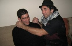 Vittorio Arrigoni and Adie