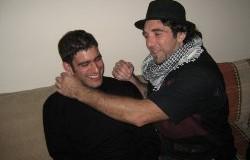 Vittorio Arrigoni and Adie