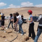 Building a new school in the Jordan Valley