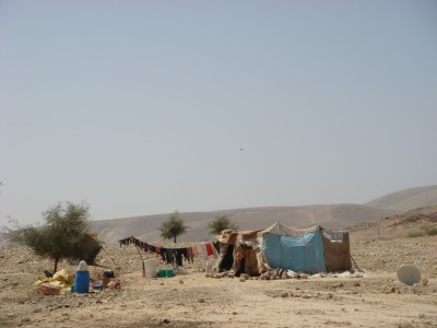Bedouins in the Jordan Valley