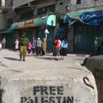 Israeli settlers in Hebron.