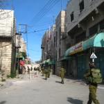 Israeli Occupation soldiers in Hebron