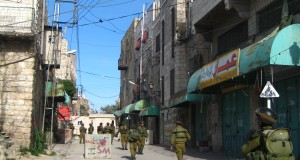 Israeli Occupation soldiers in Hebron