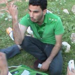 Ibrahim Omar Serhan, 21 years old, was left to bleed to death by the Israeli Occupation Forces, on July 13, 2011