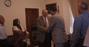 Meeting with Egyptian Ambassador - Click here for more images
