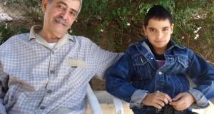Nabil al Kurd and his son Mahmood