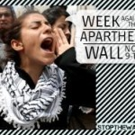 Global week of action against Israel's wall in the West Bank