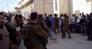 Illegal settlers and Israeli military team up - Click here for more images