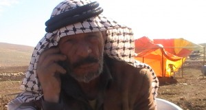 Abu Sacher, a local shepherd