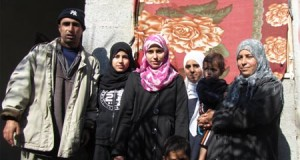 Saeed and Nisreen al-Rahel with their children Dina, Sunia, Ansam, Anas and Ali. (Photo: Palestinian Centre for Human Rights)