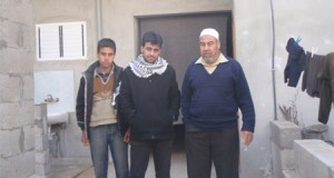 Mustafa, Abdel Kareem and Rezeq Ayad (Photo: Palestinian Centre for Human Rights)