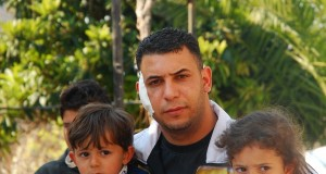 Samer and his two children, kidnapped