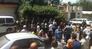 Israeli Forces raid Palestinian home
