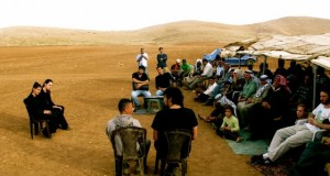 Freedom Bus Event in the Jordan Valley