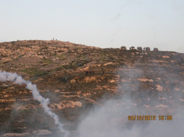 Tear gas in Urif