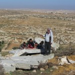 Israeli forces demolish in two villages, damage a crucial road in South Hebron Hills