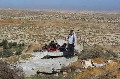 Demolished house in Ar Rifa'iyyaa