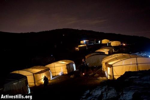Bab AlShams at night