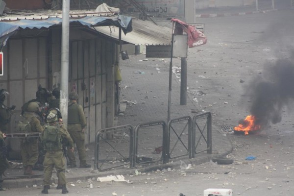 Soldiers fire teargas and steel coated rubber bullets at demonstrators