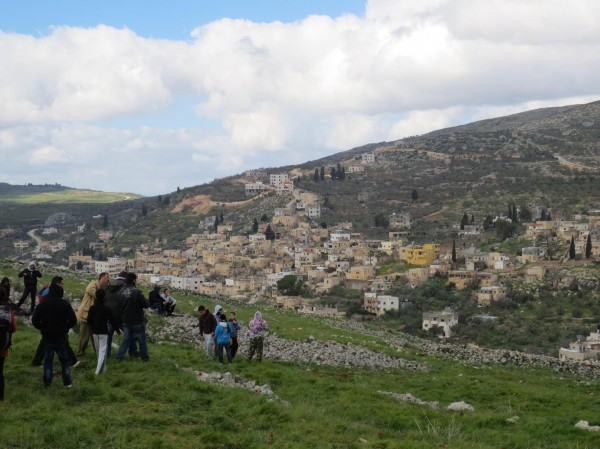 View of Burin from Al-Manatir