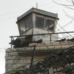 Watch tower built above home