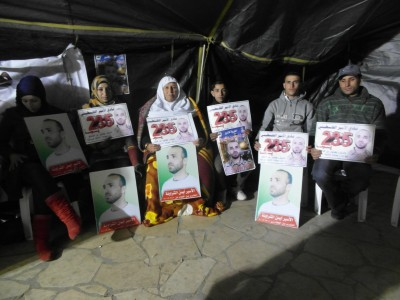 The hunger strikers in Hebron
