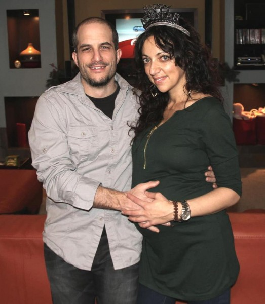 Adam Shapiro (Left) and Huwaida Arraf (Right)  [Photo via IMEU]