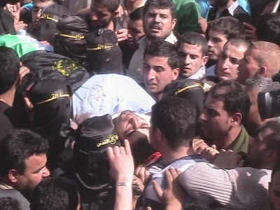 Funeral of  Mahmoud Adel Al-Tete