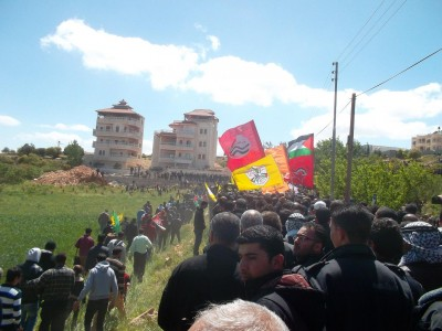 Funeral procession of Abu Hamdiyeh