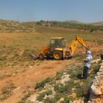 A new road is constructed by the residents of Der Jrier