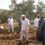 Settlers harass farmers in Jalud in 2007