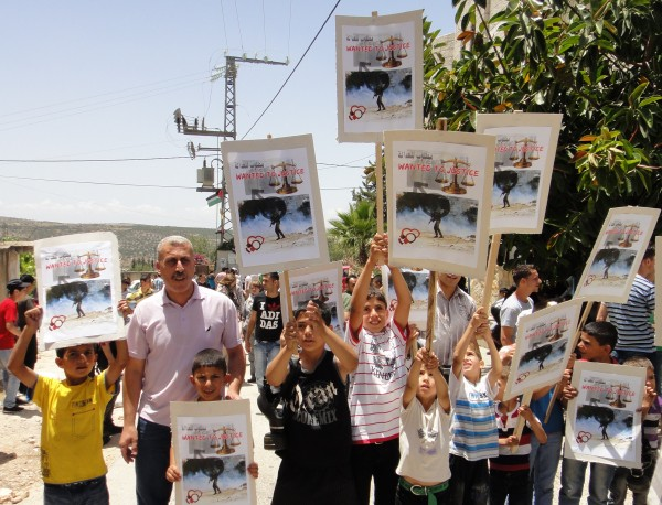 Children of Kufr Qaddum demand justice and refuse intimidation