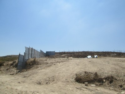 Water project work site (Photo by IWPS)