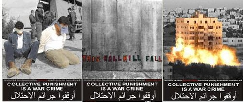 """Collective punishment is a war crime"""