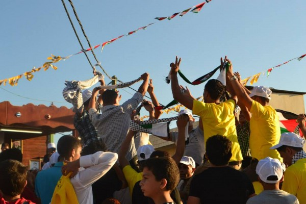 Kafr Qaddum celebrating two years of resistance (Photo by ISM)
