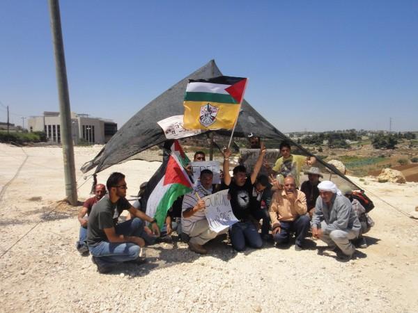 Fifth Canaan protest village