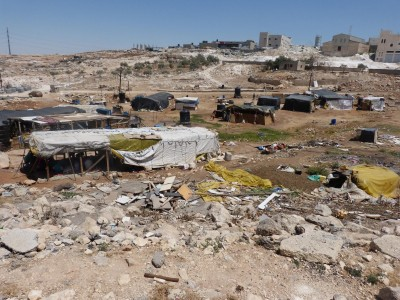 The Bedouin community of Anata