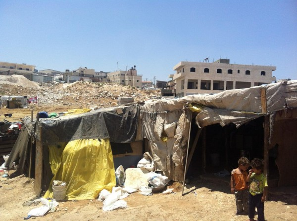 Homes of the Bedouin community of 'Anata