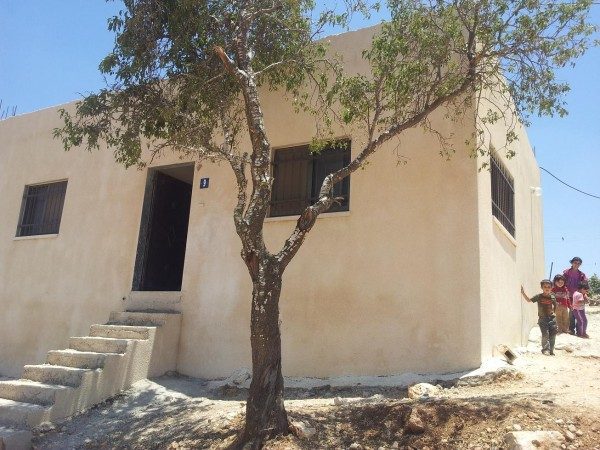 Home of newly married couple Yusef and Sundis Rizek, now under demolition order (Photo by ISM)
