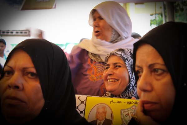 Mothers and wives of the detainees. (Photo by Gal·la López)