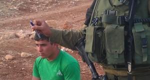 An Israeli soldier in Tawayel