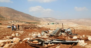 The demolition in Tawayel