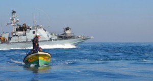 The Israeli navy regularly attacks and captures fishermen in Palestinian waters off the Gaza Strip. (Photo by Rosa Schiano)