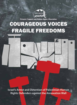 Addameer Releases Latest Report on the Continued Targeting of Palestinian Human Rights Activists by Israeli Forces