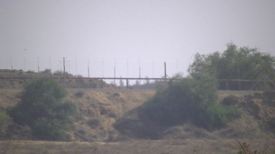 The Israeli border fence in Beit Hanoun – Picture taken by Corporate Watch, November 2013