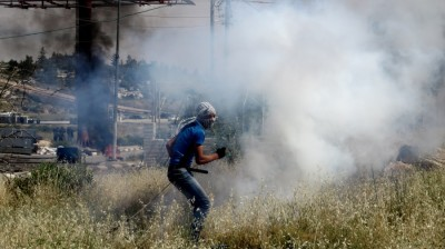 Excessive use of tear gas (photo by IWPS).