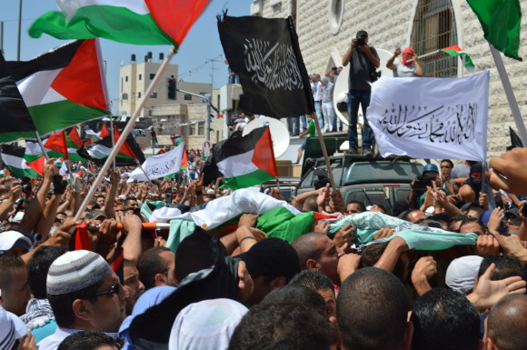 Photo by Matthew Vickery: http://mondoweiss.net/2014/07/murdered-tensions-shufat.html