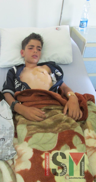 10 year old child shot in chest with live ammunition international