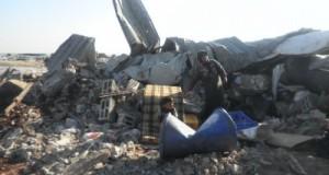 House demolition in Qalqilya in 2011 (photo by ISM).